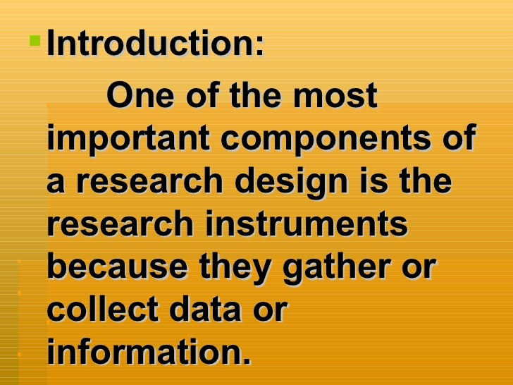 instruments in research Title: case study research instrument author: caligula last modified by: unc created date: 4/11/2001 3:34:00 pm company: moonquest other titles: case study research.