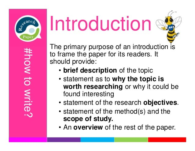 what is the primary purpose of a research paper Learn how to write a review of literature or a preface to and rationale for engaging in primary research the purpose of a review is to analyze critically.