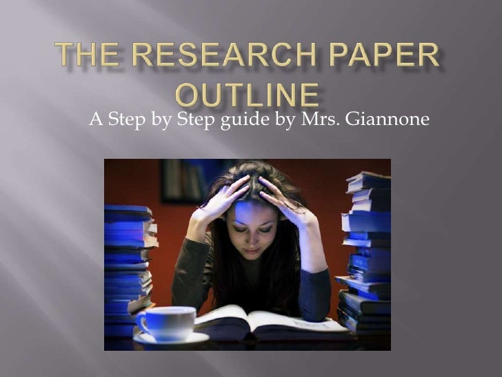 Step-by-Step Guide to Writing a Research Paper