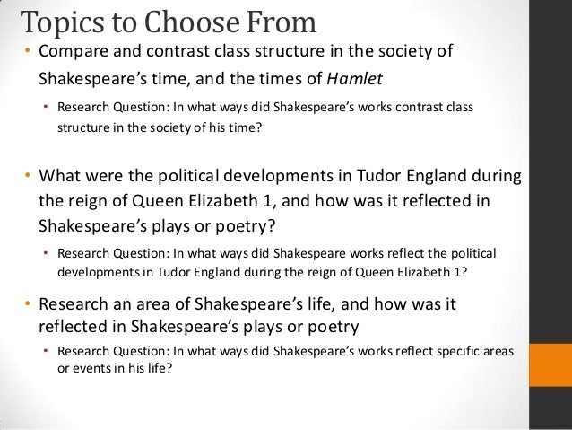 shakespeare research paper topics Research paper topics shakespeare research paper topics about shakespeare online research , research within librarian selected research topics on shakespeare from the questia online library, including.