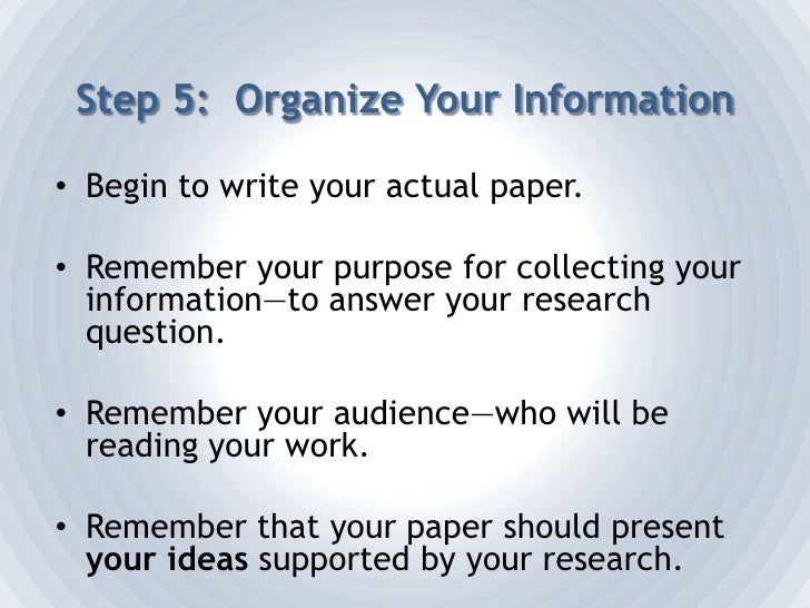 Things to Remember in Research<br />Make sure that you take information from many different sources.<br />Record the bibli...