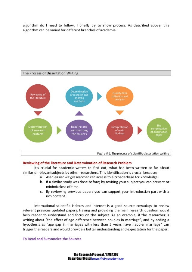 guidelines on how to write a research proposal