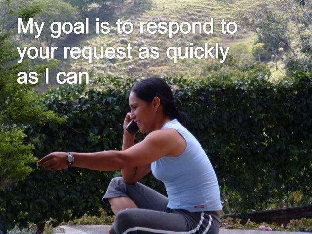 The Responsive Method Slide 2