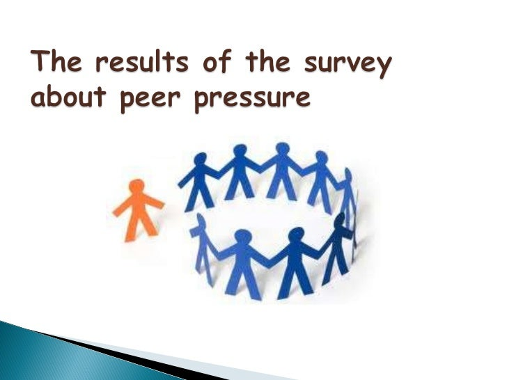 the results of peer pressure Explore the effects of peer pressure on teenagers and learn how some teenagers are making good decisions in spite of peer pressure  and as a result, is unable to.