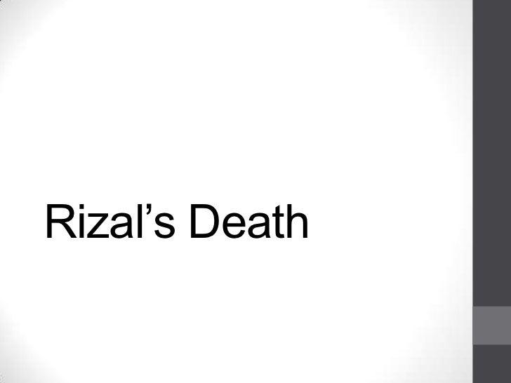 Rizal's Death