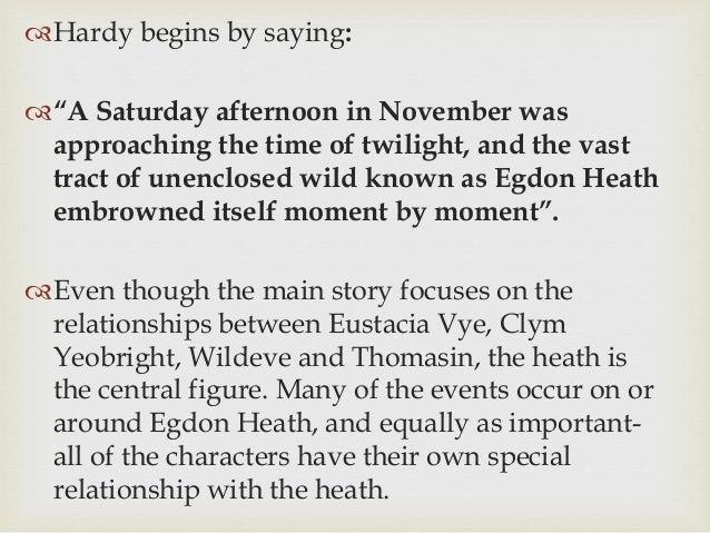 clym and eustacia relationship goals