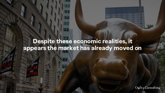 Despite these economic realities, it appears the market has already moved on