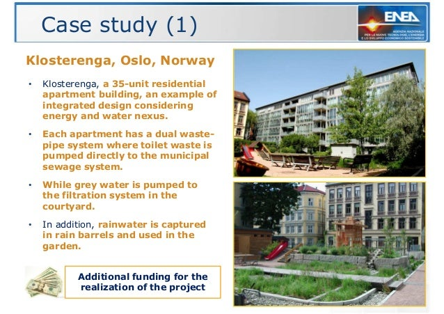 The reuse of grey water in buildings - Case study small apartment ...