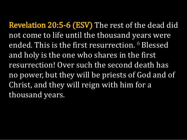 25. The Revelation of Jesus Christ An ...