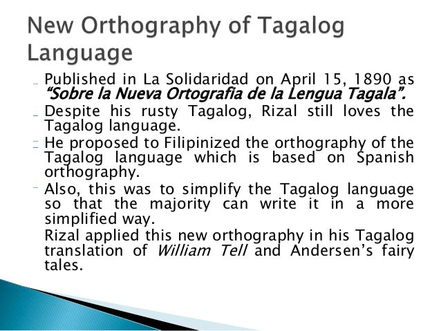 sobre la nueva ortografia de la lengua tagala on the new orthography of the tagalog language Chapter 16 brussels – capital belgium jose albert – young student from manila who accompanied rizal in brussels jaceby sisters – (suzann.