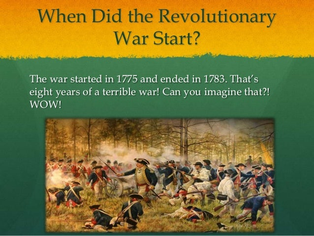 a description of how the revolutionary war begun The history of the united states army began in 1775  when the american revolutionary war began at the battles of lexington and concord in april 1775, the colonial revolutionaries did not have an army previously, each colony had relied upon the militia,.