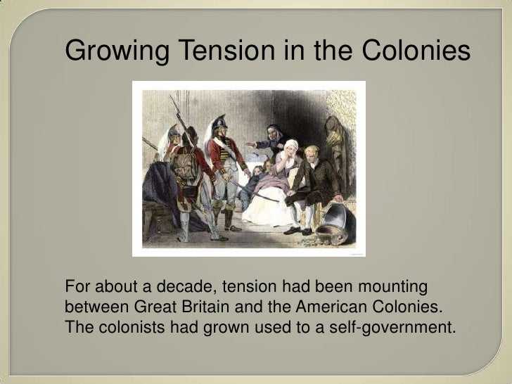 the series of tax laws that led to the revolution of the english and colonists This article is part of a series about the: american revolution  ship money tax no taxation without representation, in  laws that the colonists .