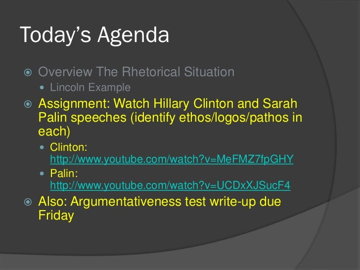 clintons speech rhetorical analysis Rhetorical analysis of clinton - research database  a 4 page rhetorical analysis of henry david thoreau's  emphasizes that while clinton's speech was.
