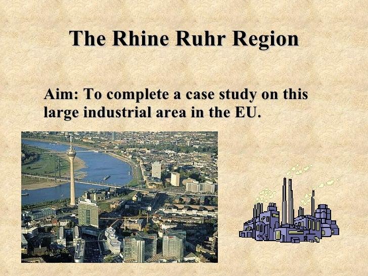 Rhine Flooding Case Study