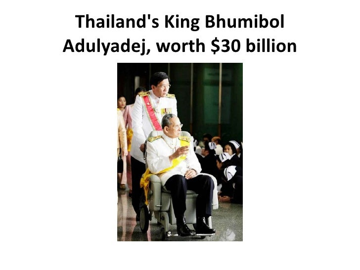 The richest royals in the world Slide 2