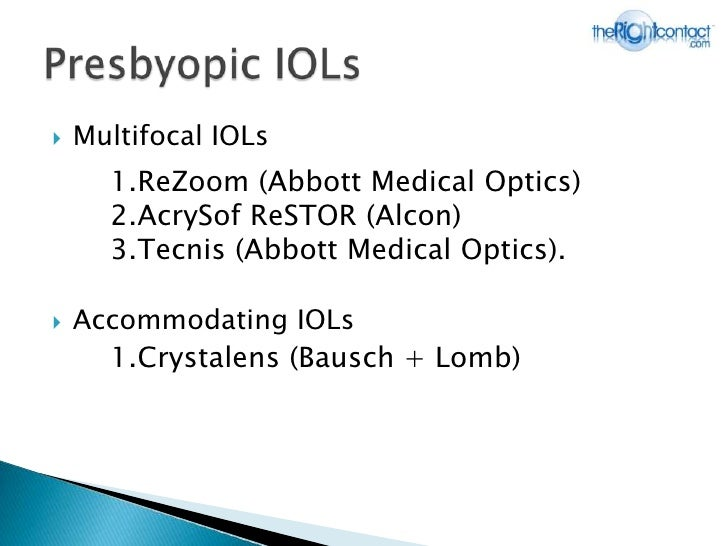 Bausch & lomb crystalens hd accommodating iol