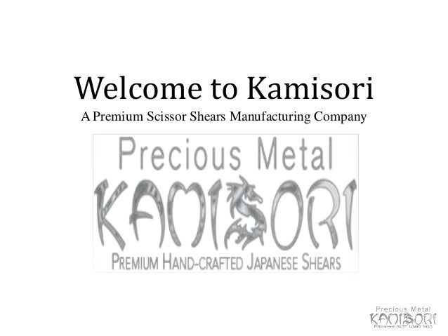 Welcome to Kamisori A Premium Scissor Shears Manufacturing Company