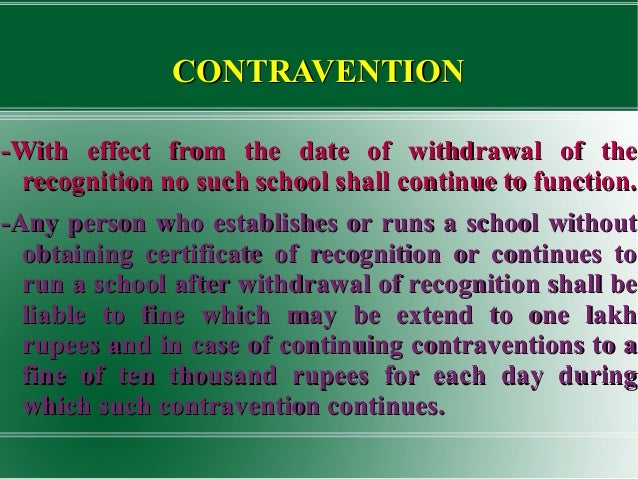 """right to free education act Challenges in implementation of right to free and compulsory education act, 2009 page 