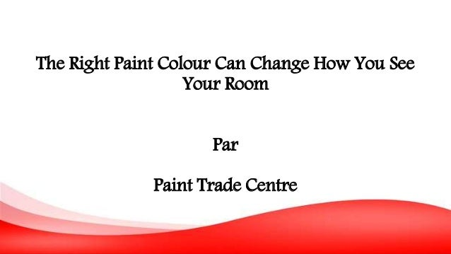The Right Paint Colour Can Change How You See Your Room