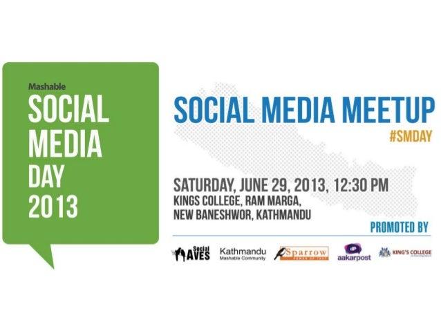 For the Right Business Social Media Day Meetup 2013 Kathmandu, Nepal