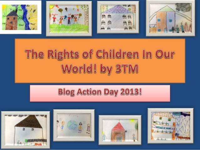Every child has the right to be educated to get a good job and learn lots of stuff and have fun. By Sian