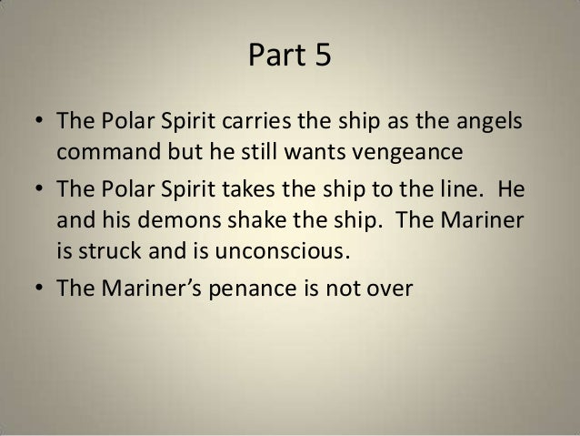 "an analysis of the symbolism in the rime of the ancient mariner In ""the rime of the ancient mariner,"" by samuel taylor coleridge, the language is beautiful he uses incredible imagery, as well as very complex symbolism."