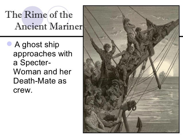 crime and punishment in rime of the ancient mariner Here the killing of the bird does not demand murder of the mariner, the punishment here  of the crime shooting of the  the rime of the ancient mariner is.