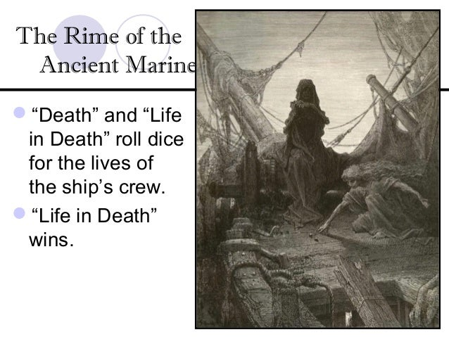 """the changes and effects of the rime of the ancient mariner When samuel taylor coleridge wrote """"the rime of the ancient mariner"""" at the end of the 18th century, his rhythmic, fantastically detailed and very long poem was considered astonishingly modern it has been a while since many people thought of it that way (or, honestly, at all) but the avant."""