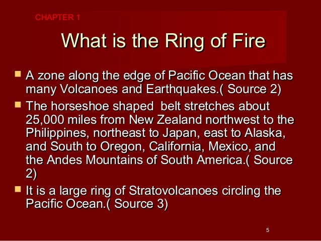 Ring Of Fire Pacific Facts