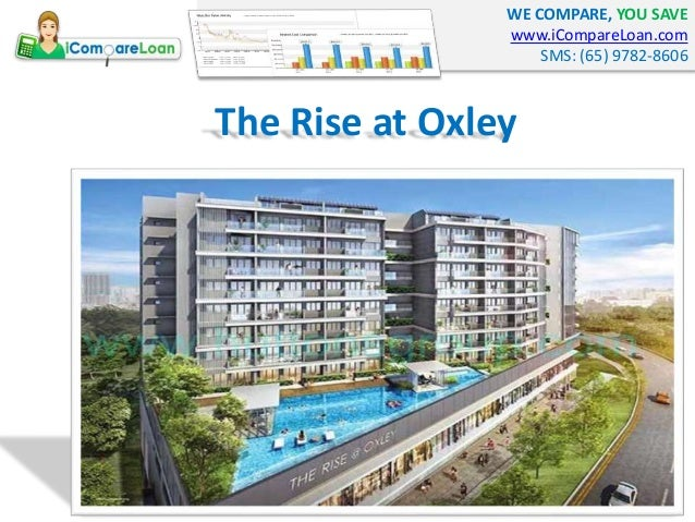 WE COMPARE, YOU SAVE www.iCompareLoan.com SMS: (65) 9782-8606 The Rise at Oxley