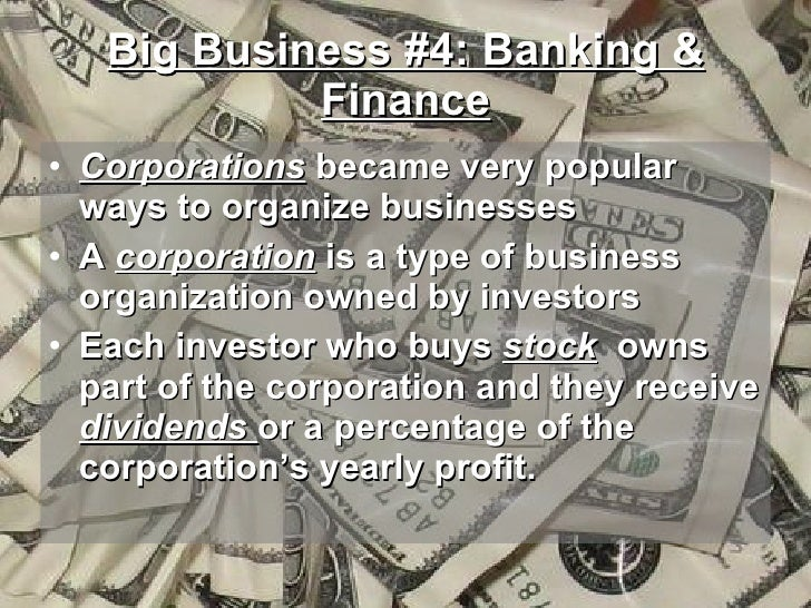 the rise of big business essay The economic wedge created by true differentiation is a cause for great optimism, even if you don't hold brandeis's view that big business inherently threatens democracy it helps to realize.
