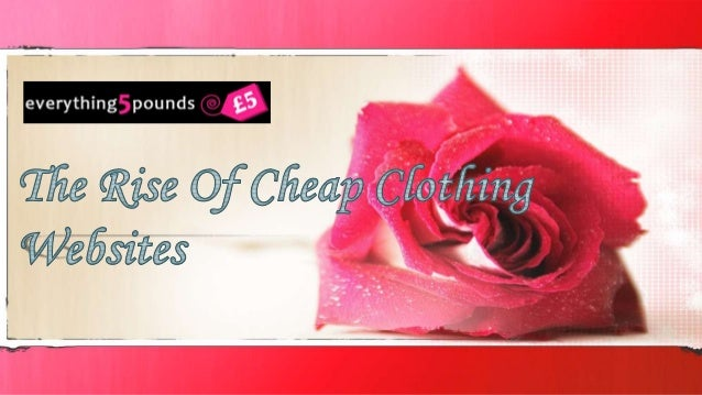 Everything5Pounds.com: Your First Stop for Fast  Fashion  Supplier of the highest quality of cheap Clothing  Fashion has a...