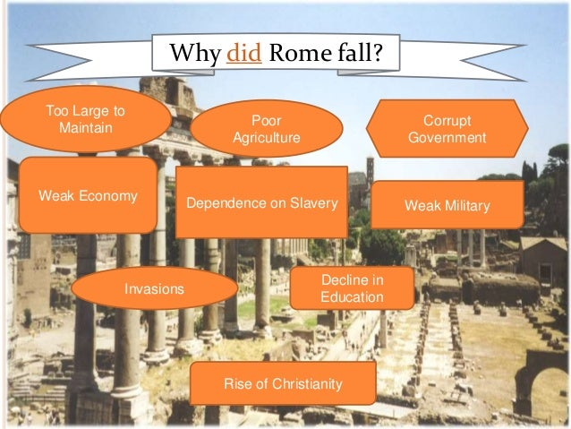 causes of the fall of the Causes of the fall of rome the fall of the roman empire analyze each of the following primary and secondary sources by answering the question(s) listed below each.