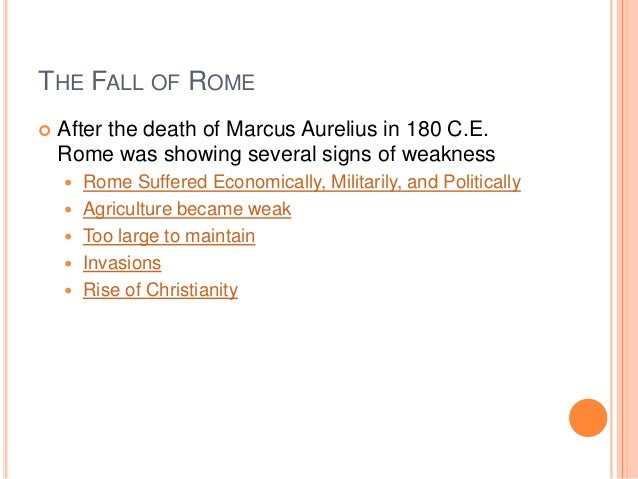 what happened after the fall of rome