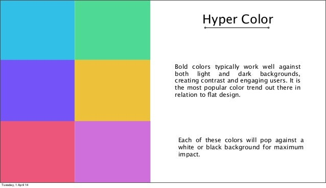 Colorful Is Trending: The Role Of Colour In Current Design Trends