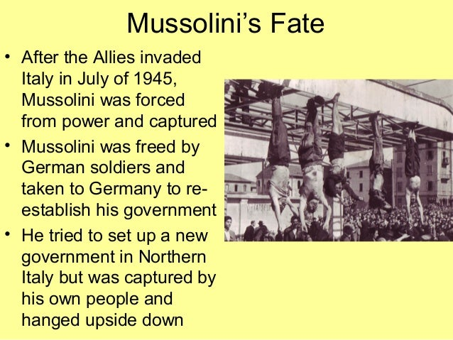 compare mussolini s rise to power and totalitarian state in italy Fascism can be understood as a totalitarian style of government with one  a left  wing interventionist is a person who is liberal believes in active government  policy  benito mussolini, the leader of the italian fascist movement  prime  minister peacefully resigns, handing over his power to mussolini.