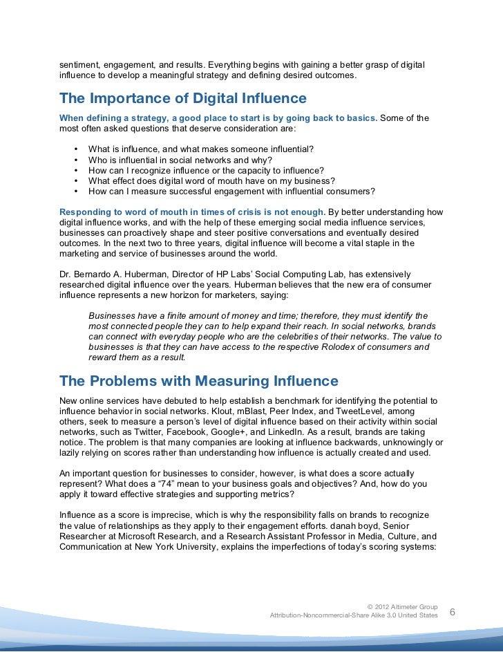 Lyric mr jones lyrics : Report] The Rise of Digital Influence, by Brian Solis