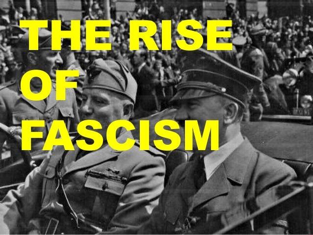 Fascism essay