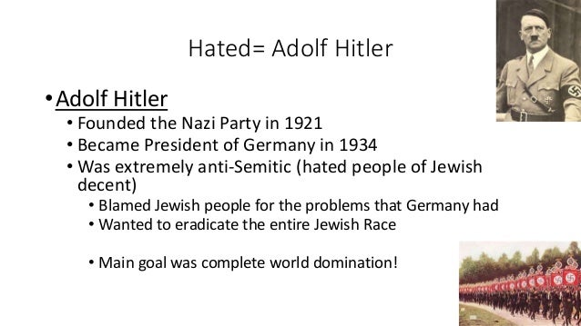 Adolf Hitler Jews Web War