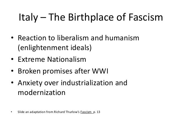 Understanding Neo-Fascism (Part 1)
