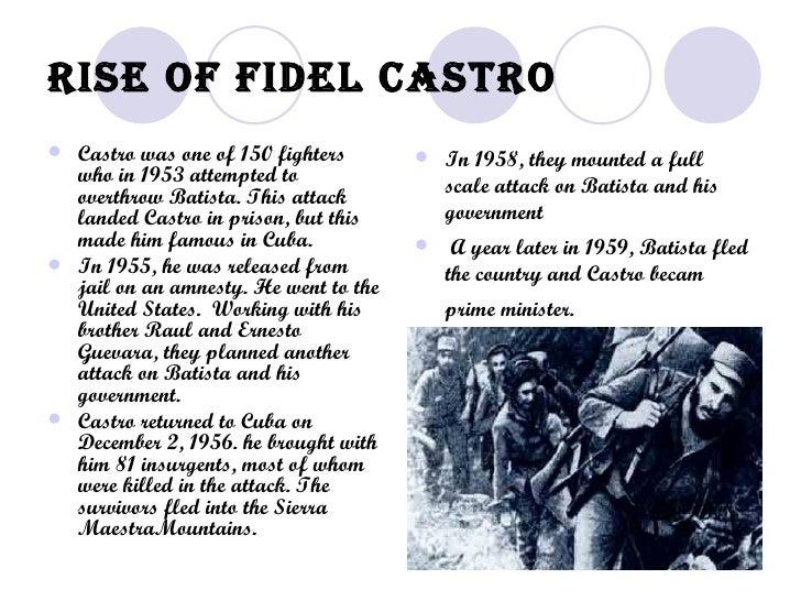 Fidel Castro'S Rise To Power