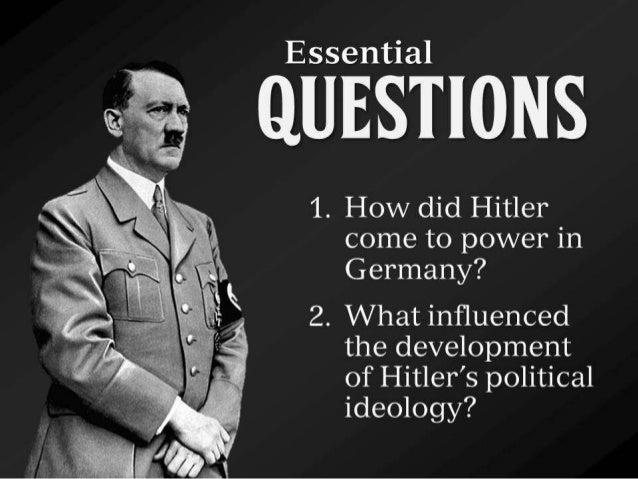 The Rise of Hitler Slide 2