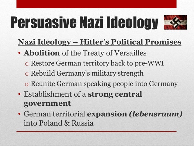 hitlers leadership strategies The methods that the nsdap (national socialists or nazis) used to gain power reflected their pragmatic philosophy nazis, being anti-intellectual, were prepared to adopt any method of taking.