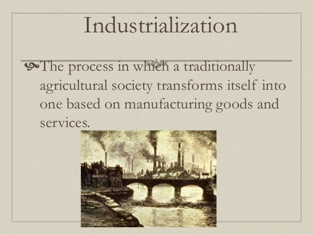 rise of industrialization The rise of big business some industry developed in the region, but the south remained an agricultural area throughout the period of industrialization.