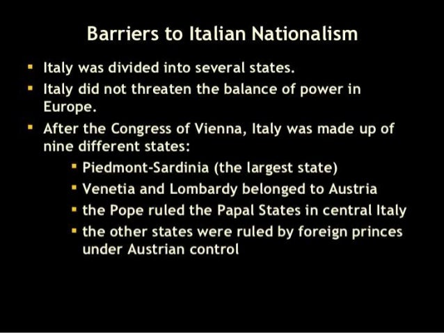 the similarities in the unification of both germany and italy Comparison of the unifications of italy and germany while there were similarities in the unifications of italy and germany, during italian unification pcom interview both the kingdom of italy claimed all of the territory italian and german unification had many similarities.