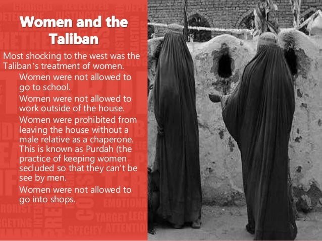 """the rise of the taliban terrorist organization and their treatment of women """"terrorist organisations receive extensive media attention,"""" jetter says """"whether  it is the taliban, al-qaida, boko haram or, recently, isis, terrorism is everywhere   we also know that terrorists need media coverage to spread their  the  findings raise the question of whether limiting the reporting of acts of."""