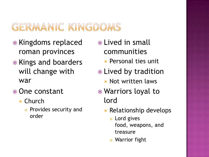 The Rise Of The Middle Ages Slide 3
