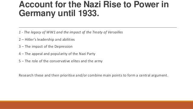 the rise of the nazi party The term was in use before the rise of the party as a colloquial and nazi flags: the nazi party used a right-facing swastika as their symbol and the.