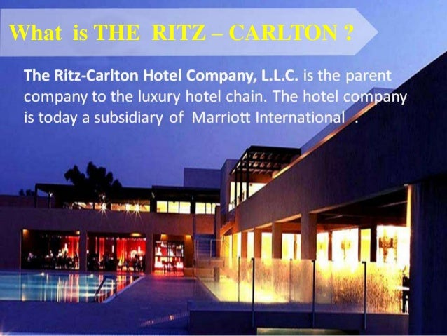 the ritz carlton case © 2018 harvard business school publishing all rights reserved harvard business publishing is an affiliate of harvard business school.