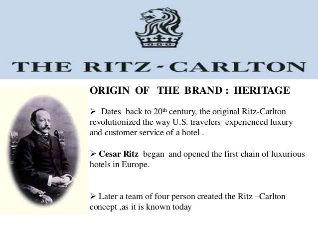 case study of the ritz cartlon tokyo hotel Click here to download a pdf version of this case study, complete with graphic analyses project summary the ritz-carlton hotel company embarked on a three year program centered on reducing.